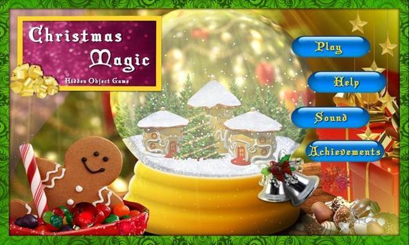 # 14 Hidden Objects Games Free New Christmas Magic screenshot 1