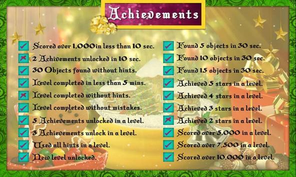# 14 Hidden Objects Games Free New Christmas Magic screenshot 7