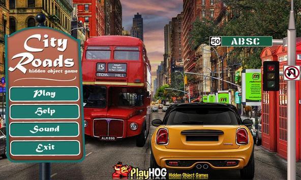 # 252 New Free Hidden Object Games Fun City Roads screenshot 1