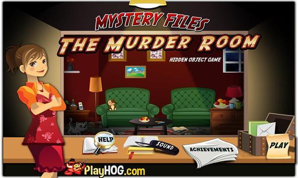 # 172 Hidden Object Games Free Mystery Murder Room screenshot 1