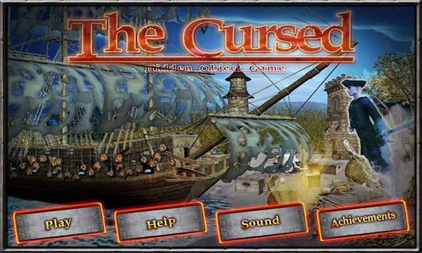# 100 Hidden Objects Games Free New Fun The Cursed screenshot 1