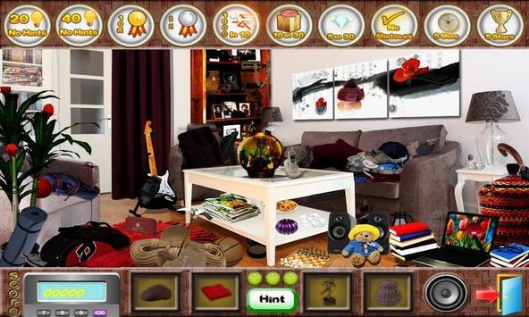 # 279 New Free Hidden Object Games Fun Living Room screenshot 4