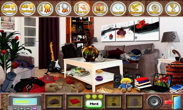 # 279 New Free Hidden Object Games Fun Living Room poster
