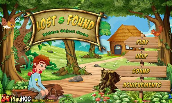 # 141 Hidden Object Games New Free - Lost & Found screenshot 2