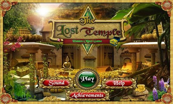 # 105 Hidden Objects Games Free New - Lost Temple screenshot 1