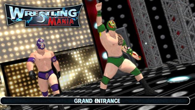 Wrestling Mania : Wrestling Games & Fighting poster