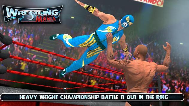 Wrestling Mania : Wrestling Games & Fighting screenshot 1