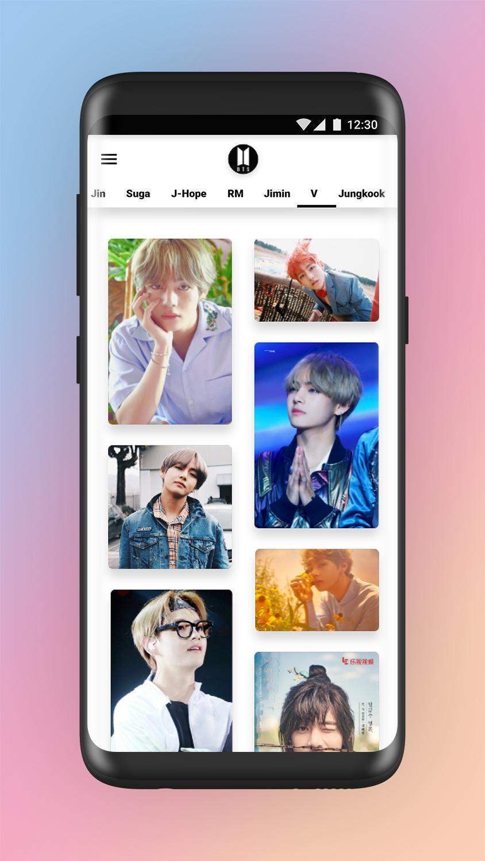 BTS - Best wallpaper 2019 2K HD Full HD aplikasi download