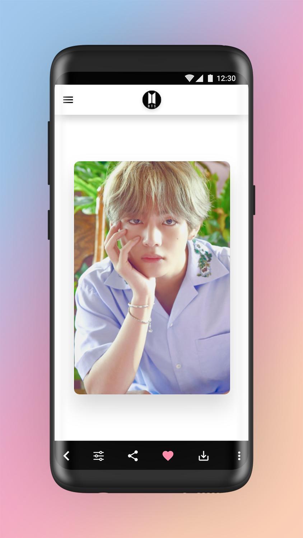 Apk terbaru buat android BTS - Best wallpaper 2019 2K HD Full HD