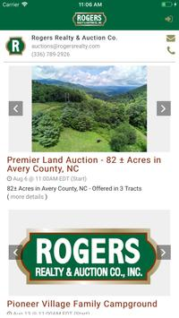 Rogers Auction Group screenshot 1