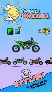 Summer Wheelie screenshot 1