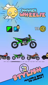 Summer Wheelie screenshot 1