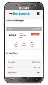 Tiket Domestik screenshot 3
