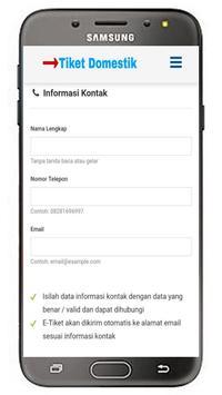 Tiket Domestik screenshot 4