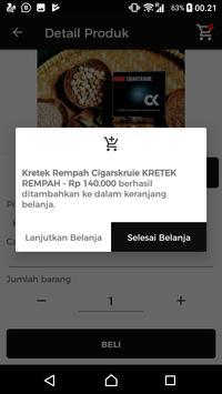 Kretek Rempah Cigarskruie screenshot 3