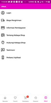 Kebaya Olshop screenshot 4