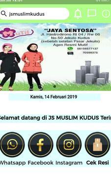 JS MUSLIM KUDUS poster