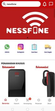 Nessfone - accesories hp original dan termurah poster