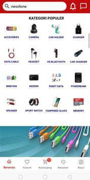 Nessfone - accesories hp original dan termurah screenshot 2