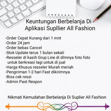 Supplier All Fashion poster