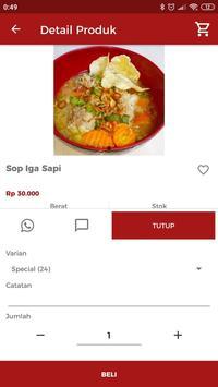 Warung Sop Iga Tante Melani screenshot 1