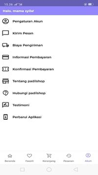 Padil Shop screenshot 1