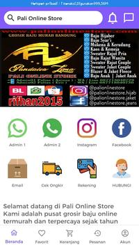 Pali Online Store poster