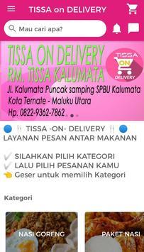 Tissa delivery screenshot 4