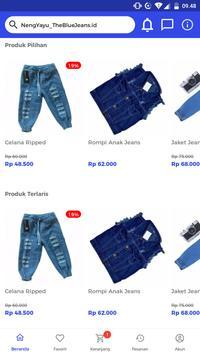 NengYayu_TheBlueJeans.id screenshot 2