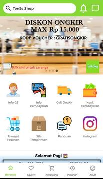 Ten9s Shop screenshot 4