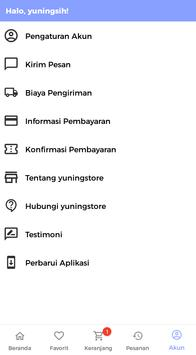 Yuningstore screenshot 4