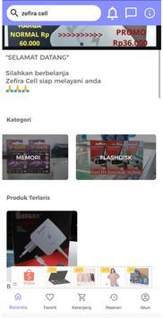 Zefira Cell screenshot 1