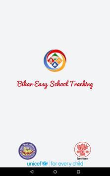 Bihar Easy School Tracking (BEST) poster