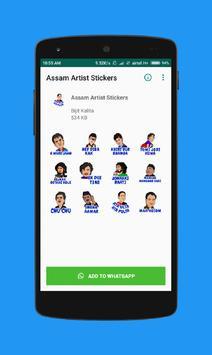 Assam Artist Stickers for WhatsApp - WAStickerApps poster