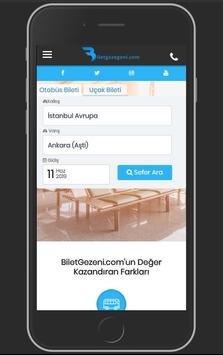 Otobüs ve Uçak Bileti - BiletGezegeni screenshot 1