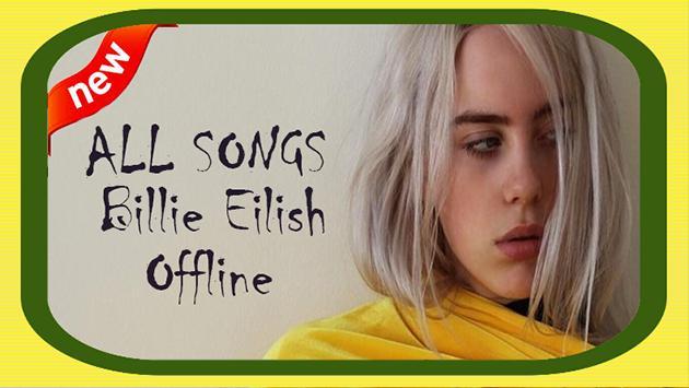Songs Billie Eilish - Offline screenshot 4