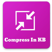 Compress image in Kb icon