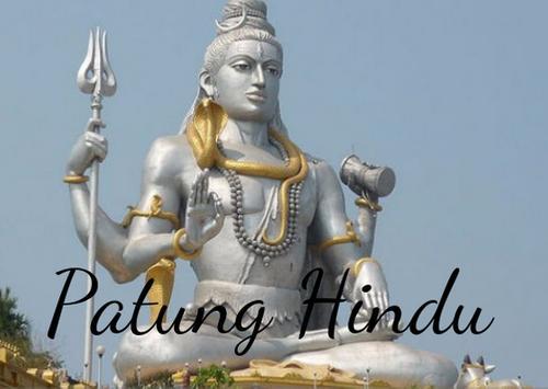 Patung Dewa Hindu Wallpaper poster