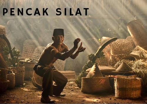 Pencak Silat Indonesia Wallpaper-poster