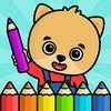 Icona Libro da colorare per bambini