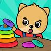 Kinderspiele für Kleinkinder ab 2 - 5 Jahren Zeichen