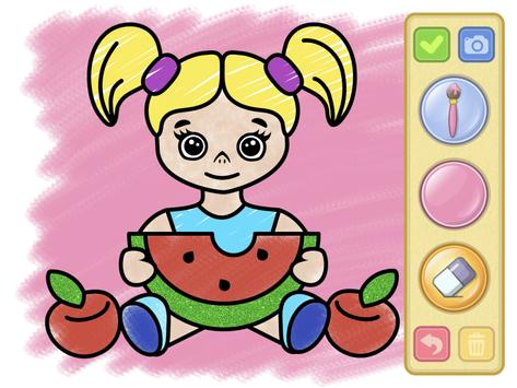 Coloring and drawing for kids screenshot 18