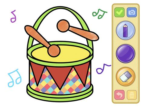 Coloring and drawing for kids screenshot 20