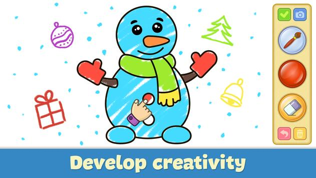 Coloring and drawing for kids screenshot 2