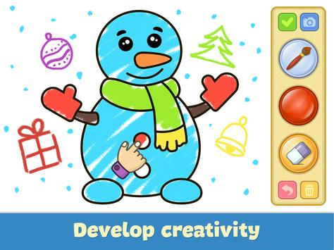 Coloring and drawing for kids screenshot 9