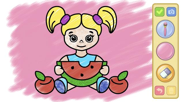 Coloring and drawing for kids screenshot 4