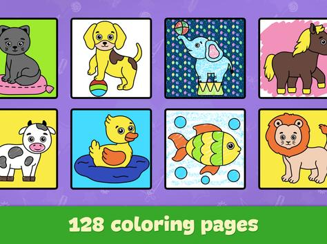 Coloring and drawing for kids screenshot 12