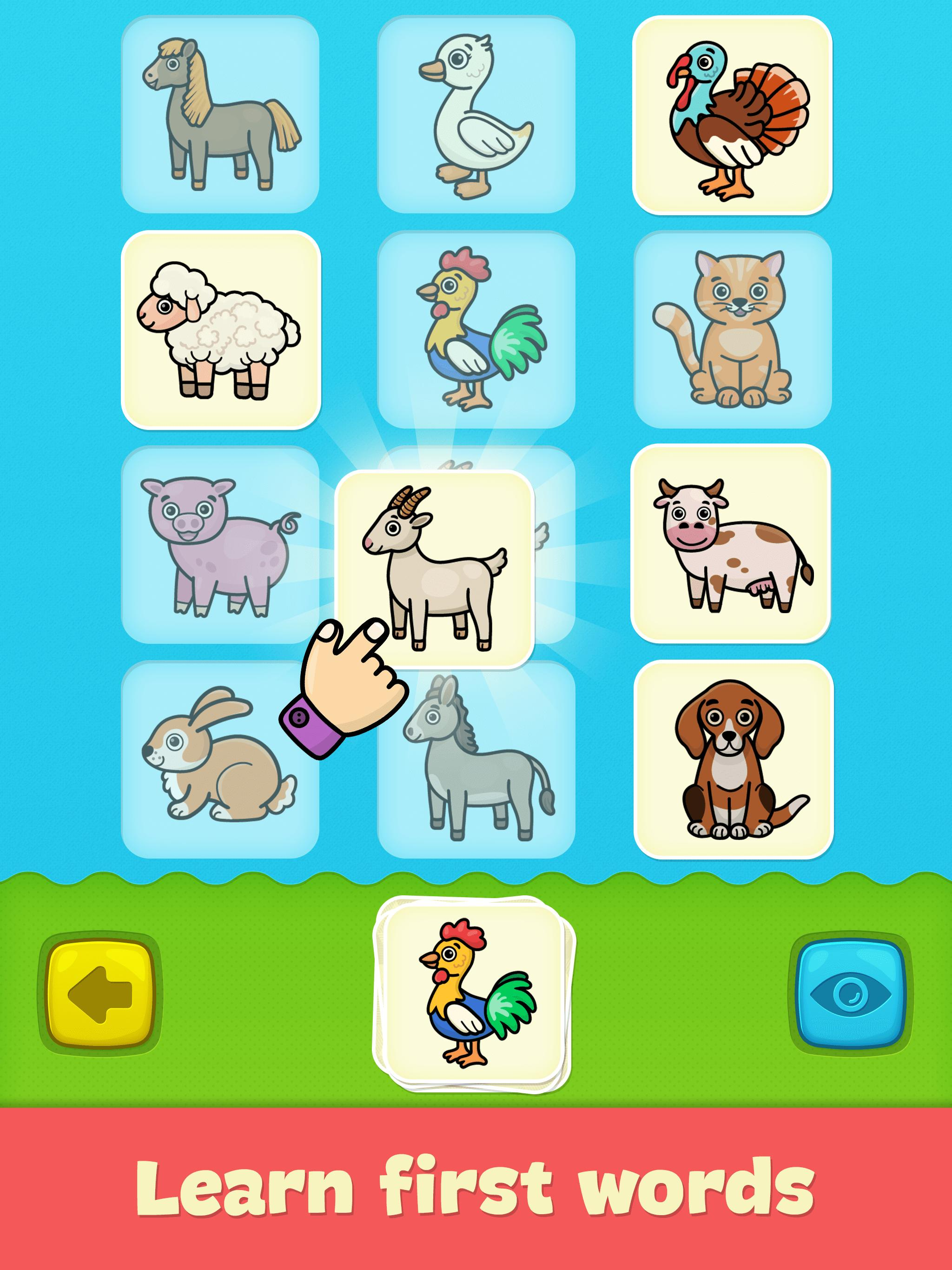 Baby flash cards for toddlers for Android - APK Download