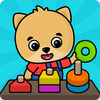 兒童迷宮與拼圖探索-兒童與少兒益智類遊戲 圖標