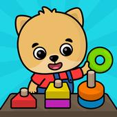 어린이 학습용 게임 2세 이상 아이콘